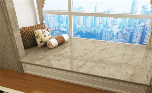 窗台大理石装饰效果图 常见窗台石材引荐