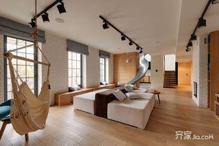 小户型LOFT公寓装修设计效果图
