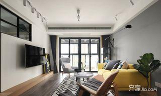 90平北欧风格三居装修效果图