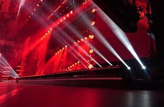 大型舞台设计效果图