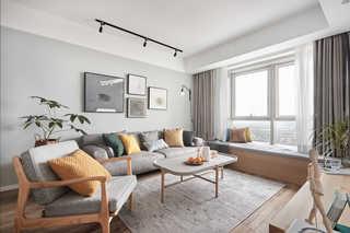 89平清新北欧三居装修设计图
