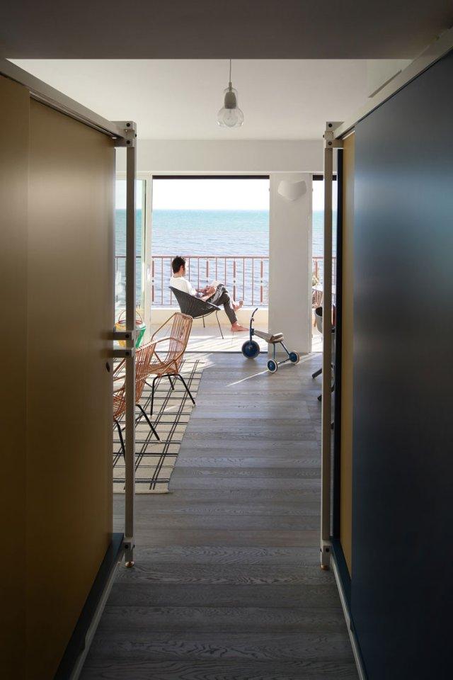 40㎡小户型公寓装修走廊设计图
