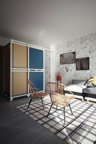 40㎡小户型公寓装修设计图