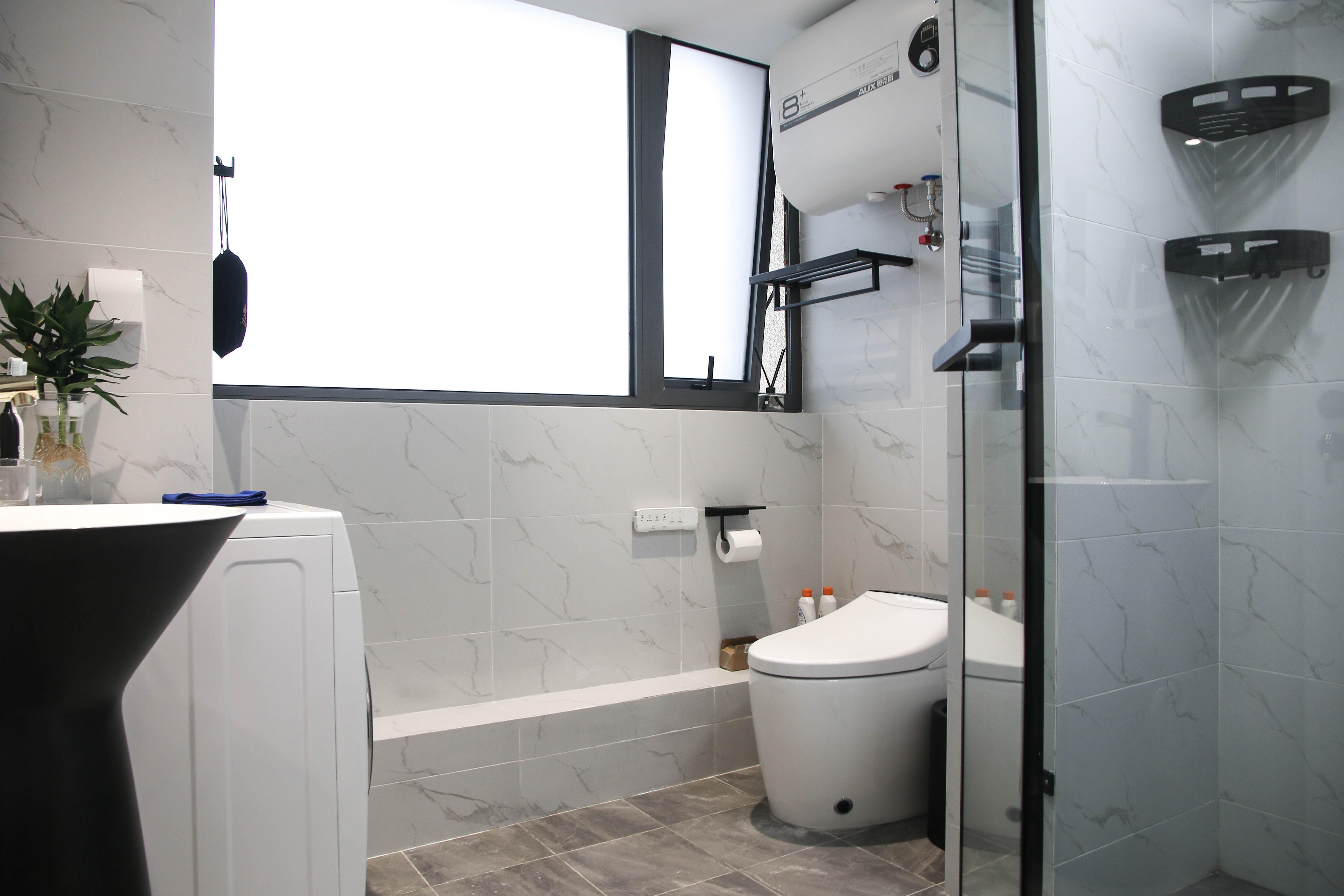 现代轻奢一居室卫生间装修效果图