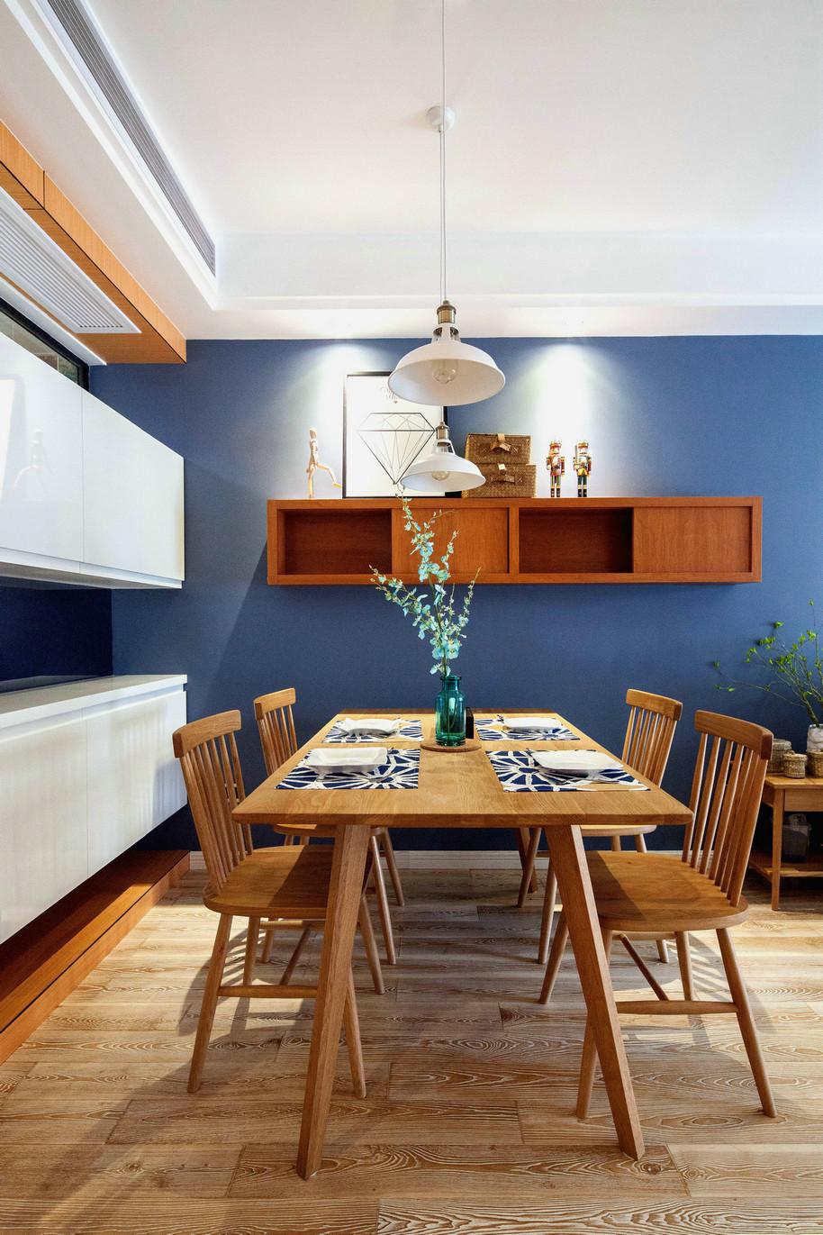 75平北欧风一居餐厅装修效果图
