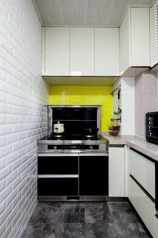 75平北欧风一居厨房装修效果图