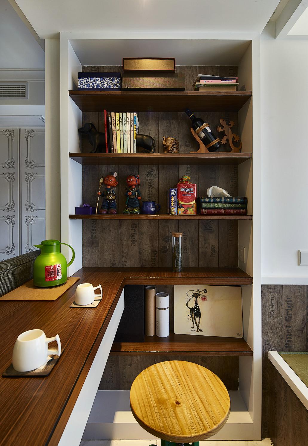 125㎡北欧风格三居装修吧台设计
