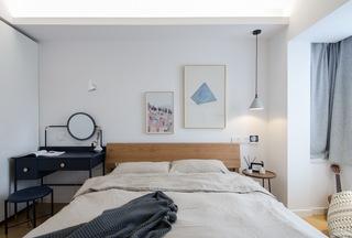 65㎡北欧风一居卧室装修效果图