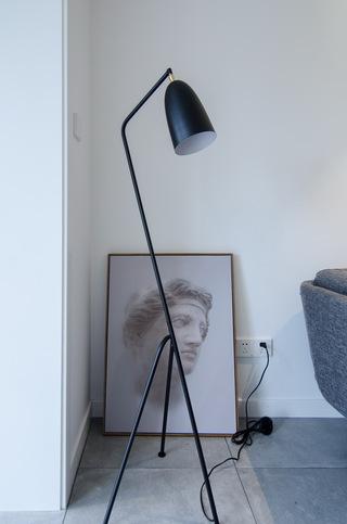 65㎡北欧风一居室装修落地灯设计