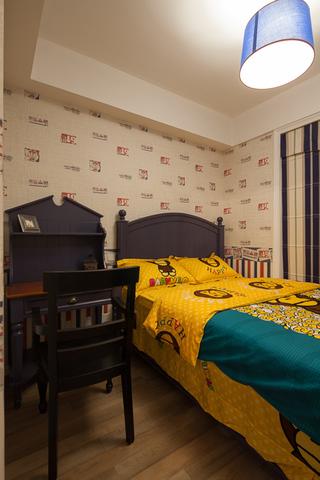 美式混搭三居室儿童房装修效果图