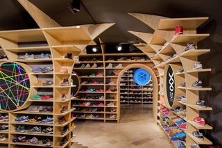运动鞋店装修效果图