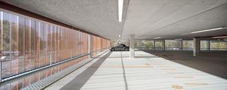 停车场设计效果图 光影空间