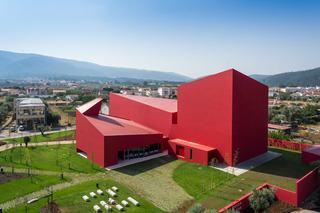 红色艺术中心设计效果图