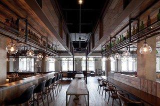 LOFT风格主题餐厅装修效果图