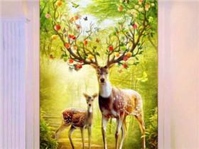 玄关鹿图片是什么意思 玄关挂画有什么禁忌