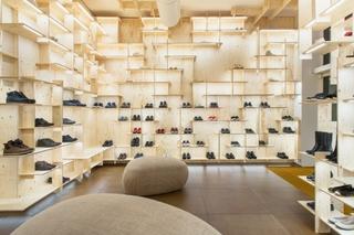 鞋店装修效果图 质朴简明