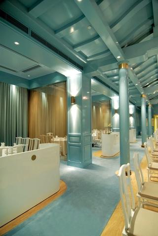 酒楼餐厅吊顶装修设计图