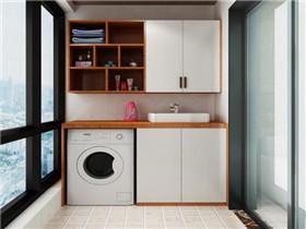 阳台做洗衣柜好吗 阳台洗衣柜装修注意事项