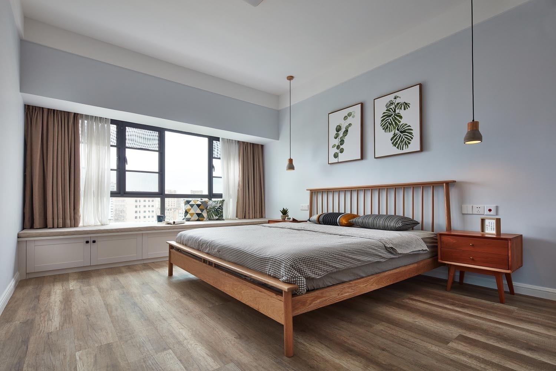 124㎡北欧风格卧室装修效果图