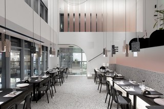 美食店装修设计 简约有格调
