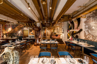 复古风西餐厅装修效果图