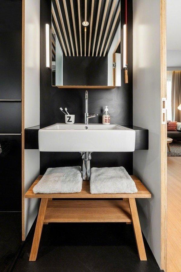 房子装修小户型LOFT一居室装修效果图 小而全的功能空间
