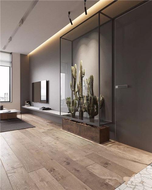 漂亮的室内装修效果图 55平小户型的华丽蜕变