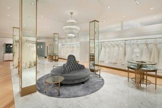 婚纱店装修设计 精致优雅