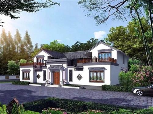 农村一层半最美房屋效果图  看自建房怎样变身豪宅