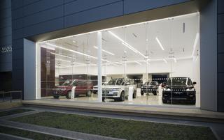 汽车店设计效果图