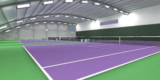 网球馆装修效果图