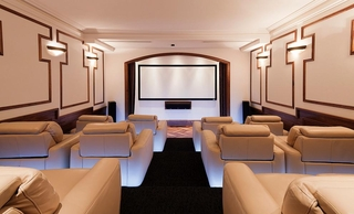 私人影院设计效果图