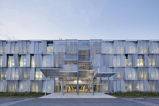 大学科研楼入口设计效果图
