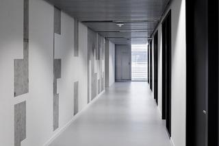 大学科研楼走廊设计效果图