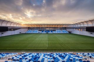 现代大型足球场设计效果图
