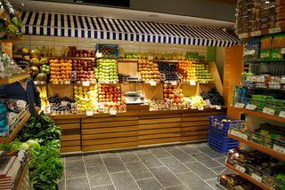 水果店设计效果图