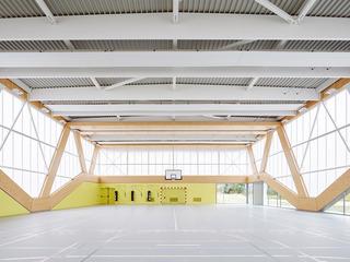 球馆设计效果图 明亮简洁