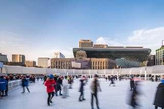 大型户外溜冰场设计图