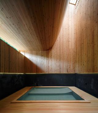 木制洗浴室装修效果图