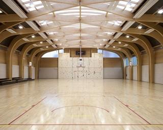 木结构室内运动馆装修效果图