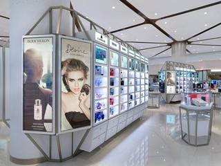 化妆品展柜设计效果图
