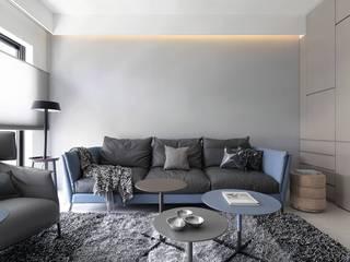 高级灰沙发背景墙装修效果图
