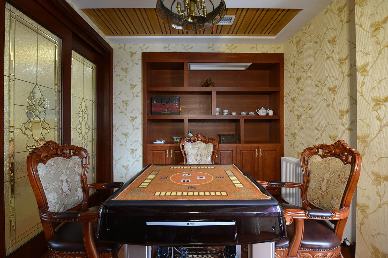 欧式风格棋牌室装修效果图