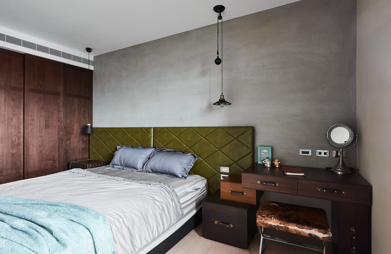 现代风格公寓卧室装修效果图