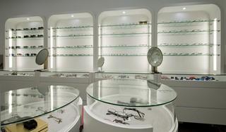 眼镜展柜设计效果图