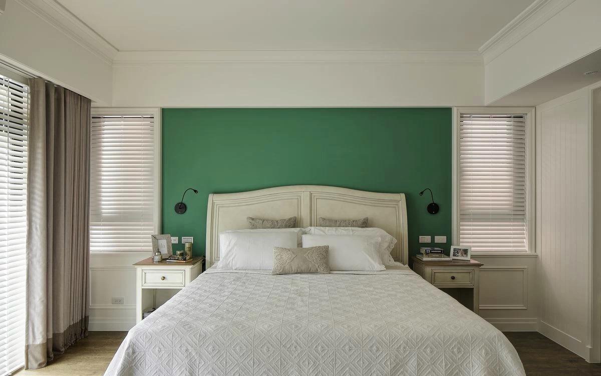 复古美式风格卧室装修效果图