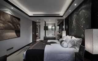 東南亞風格臥室裝修效果圖