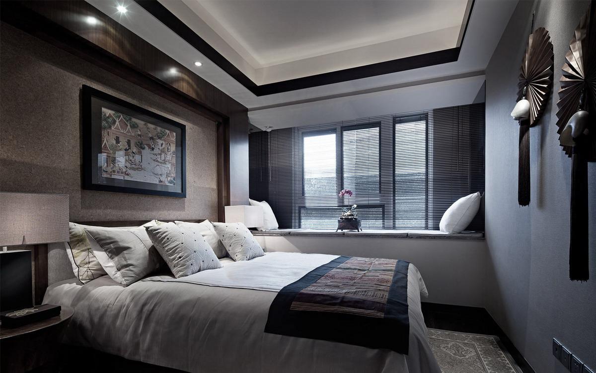 东南亚风格卧室装修设计图