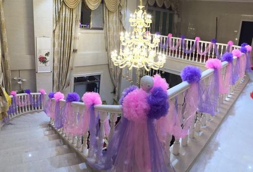楼梯纱幔装饰教程 纱幔装饰楼梯注意事项