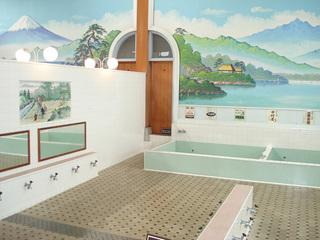 清新日式洗浴室装修效果图